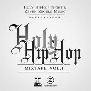 Holy HipHop mixtape - voorkant